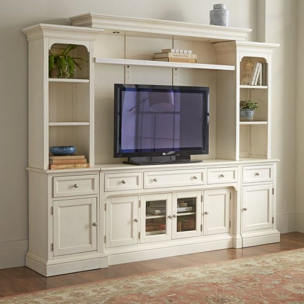 Bufet Tv Klasik Modern Cat Duco Putih