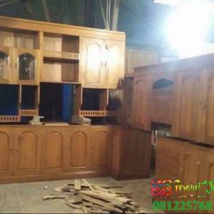 Kitchen Set Minimalis Murah Kayu Jati Jepara