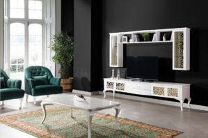 Meja TV Minimalis Simple Model Lemari Pajangan Dinding