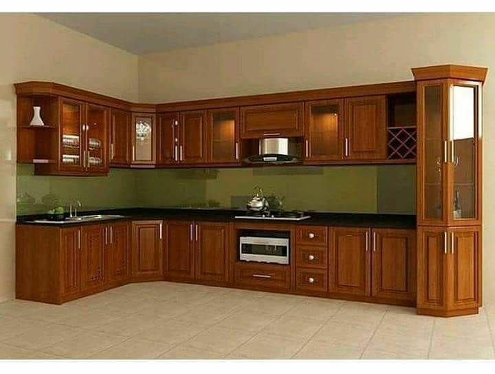Model Kitchen Set Jati Minimalis