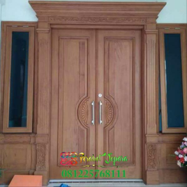 Model Pintu & Kusen Jendela Depan Minimalis Terbaru