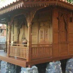 Rumah Kayu Jati Klasik Ukir Jepara