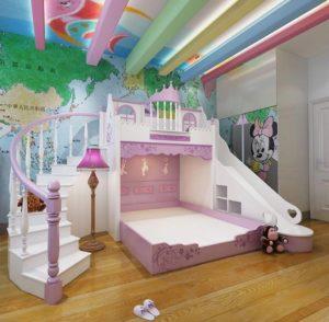 Tempat Tidur Anak Princess Rumah Castle