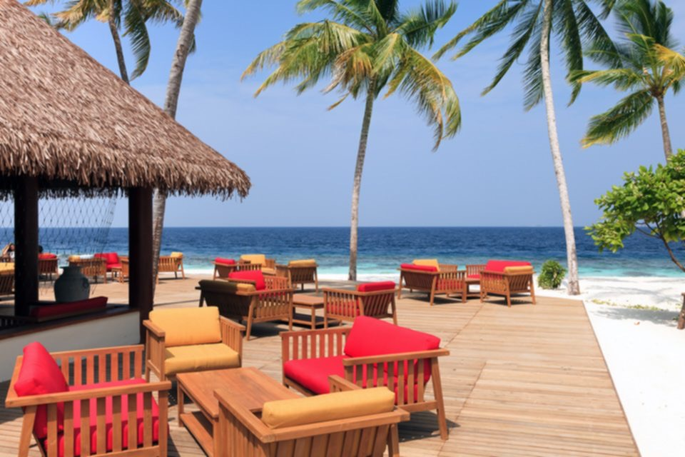 Furniture Garden Kursi Dan Meja Resort