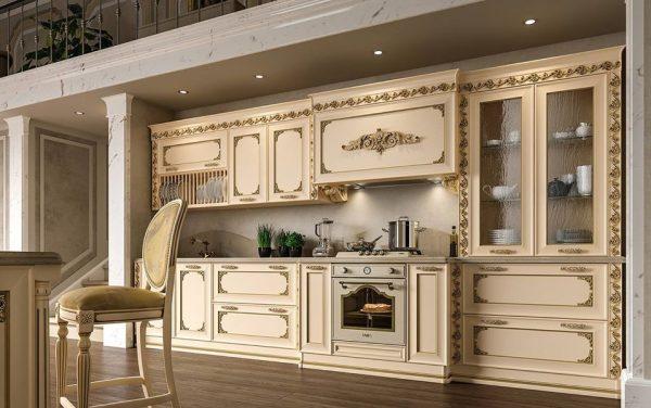 Kitchen Set Dapur Bersih Model Ukir Klasik Mewah
