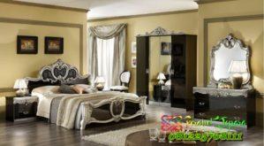 Set Kamar Tidur Mewah Klasik Model Italia