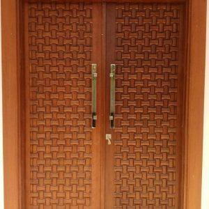Kusen Pintu Rumah Minimalis Ukir Trend 2020