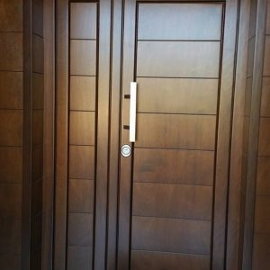Model Pintu Minimalis Asimetris Untuk Pintu Utama