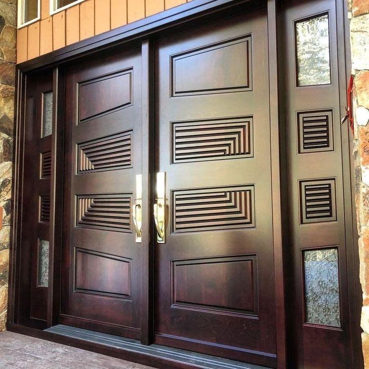 Model Pintu Rumah Mewah Minimalis Kusen Pintu Jati