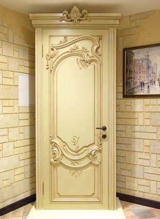 Pintu Kamar Ukir Klasik Minimalis Jepara