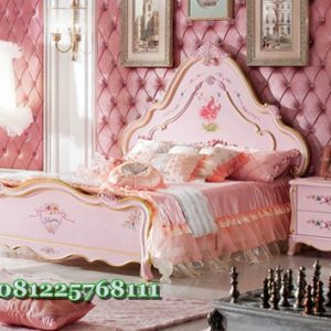 Desain Kamar Tidur Anak Love Princess Aurora