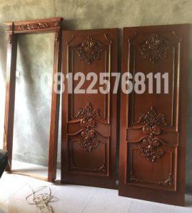 Model Pintu Kamar Klasik Ukir Jepara