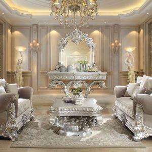 Sofa Tamu Luxury Victorian Eropa Desain