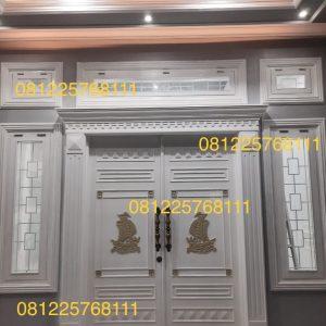 Bingkai Pintu Utama Minimalis Klasik Mewah