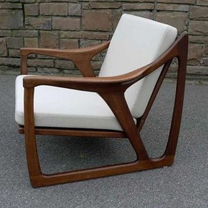 Kursi Sofa Tanganan Lengkung Kayu Jati Jepara