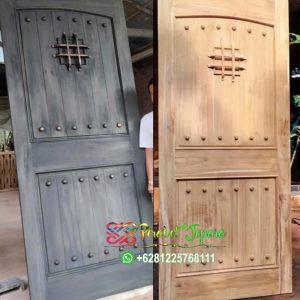 Pintu Rumah Antik Dan Unik Kayu Jati