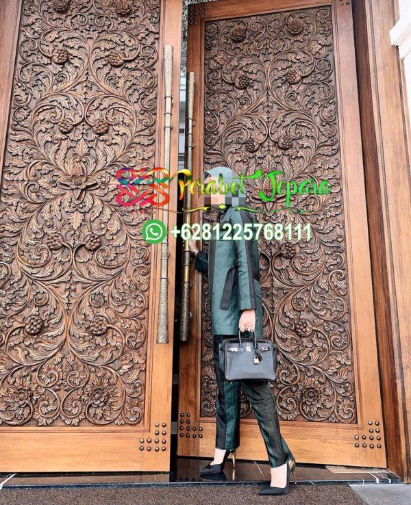 Pintu Rumah Mewah Kayu Jati Ukir Jepara